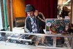 Le DJ à l\'oeuvre