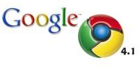 Google Chrome 4.1 disponible