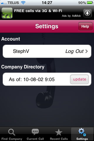 LucyPhone, Lucy, Phone, iPhone, call, waiting, appel, attente, appel en attente, update, mise à jour, répertoire, directory