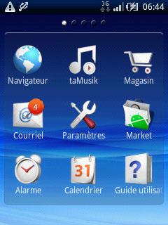 Sony, Ericsson, Sony-Ericsson, Xperia, X10, X10Mini, Mini, smartphone, WiFi, 3G, Bluetooth, Android, touch screen, écran tactile