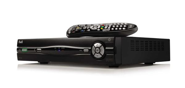 Bell Télé Fibe récepteur et télécommande