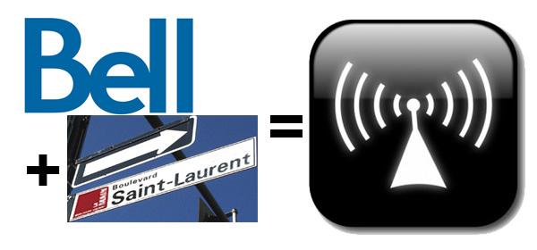 Wi-Fi gratuit sur St-Laurent grâce à Bell