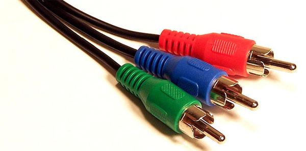 Boxee Box câbles à composantes séparées component YPbPr