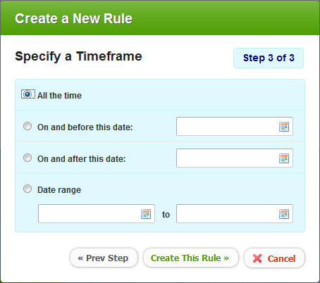 Chrometa Rules - step 3