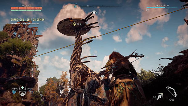 Horizon Zero Dawn Long Neck Long Cou Dinosaure