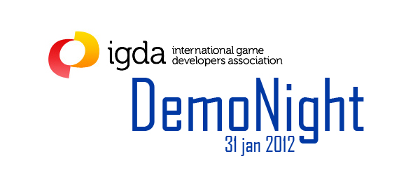 IGDA DemoNight 31 janvier 2012