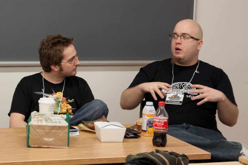 Débat Geeks vs Nerds avec @FTTank et @fharper