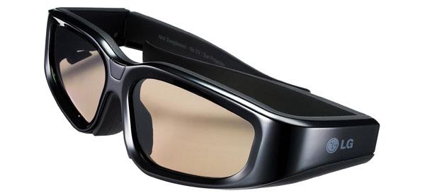 LG, 3D, glasses, lunettes, polarisées
