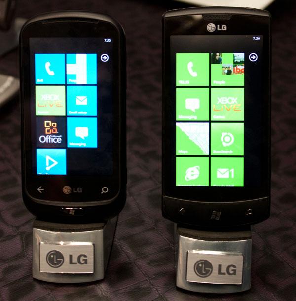 LG, Optimus, 7, Quantum, téléphones