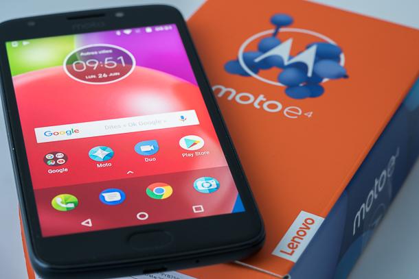 Moto E4 de Motorola