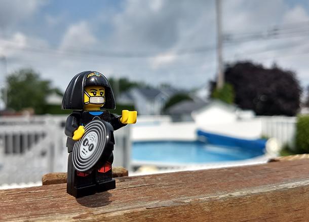 Moto Z2 Play LEGO Bokeh