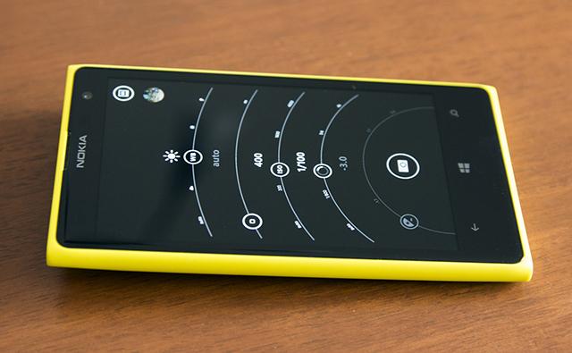 Nokia Lumia 1020 - réglages manuels