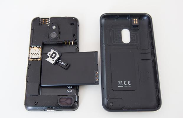 Entrailles du Nokia Lumia 620