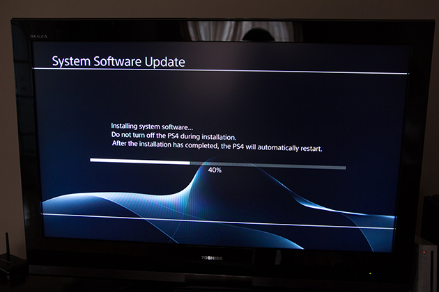 PS4 Mise à jour logicielle Software Update