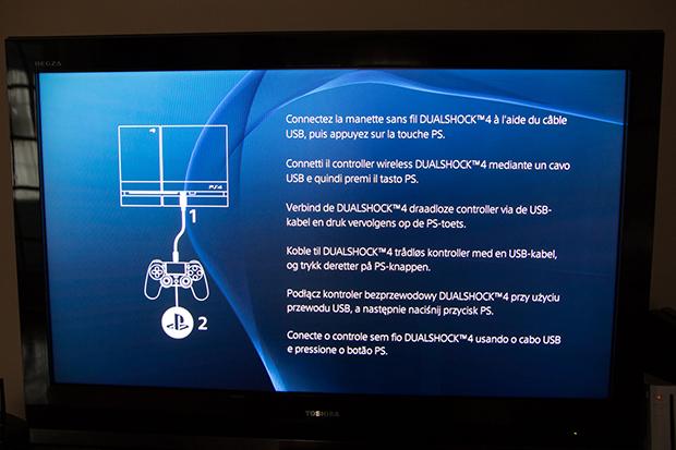 PS4 Use Cable / Brancher le câble