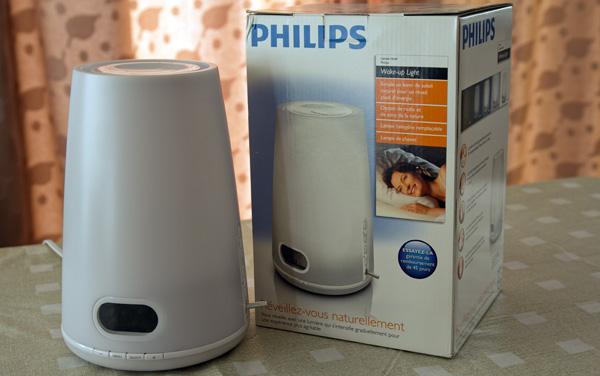 Lampe de réveil Philips Wake-up Light avec boite