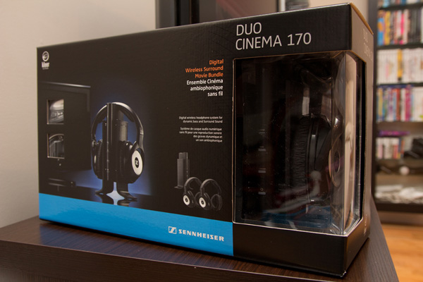 Ensemble Sennheiser Duo Cinema RS 170