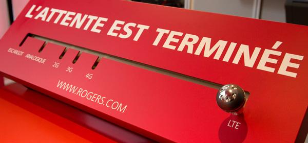 Rogers LTE - L'attente est terminée