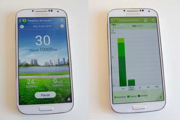 Samsung Galaxy S4 S Health Companion