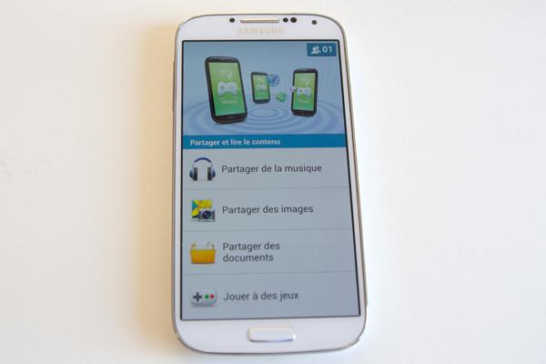 Samsung Galaxy S4 GroupPlay