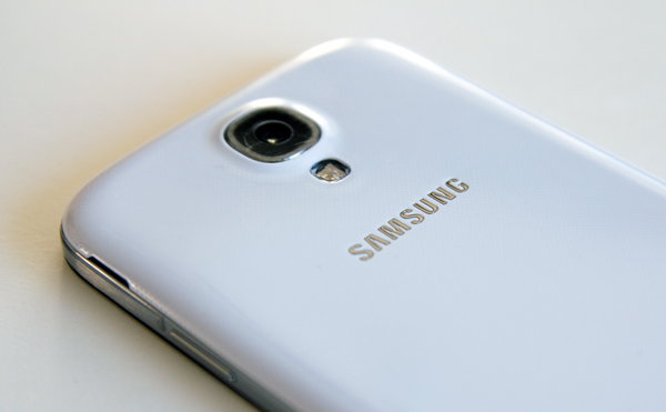 Samsung Galaxy S4 camera back