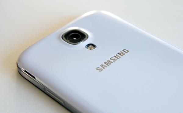 Samsung Galaxy S4 camera back