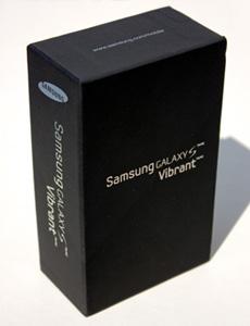 Samsung, Galaxy, Galaxy S, Vibrant, Box, Android, Google