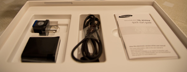 Samsung Galaxy Tab 10.1 openbox boite ouverte