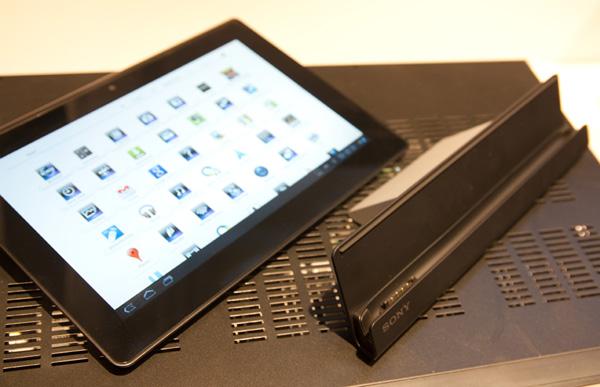 Sony Tablet S avec socle