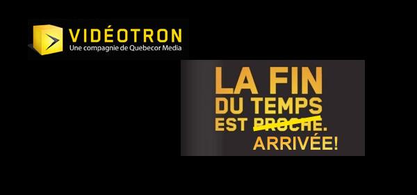 Videotron, Services, Mobiles, logo, fin, temps