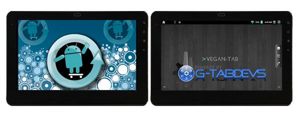 ViewSonic gTablet MODs Cyanogen + VEGAn