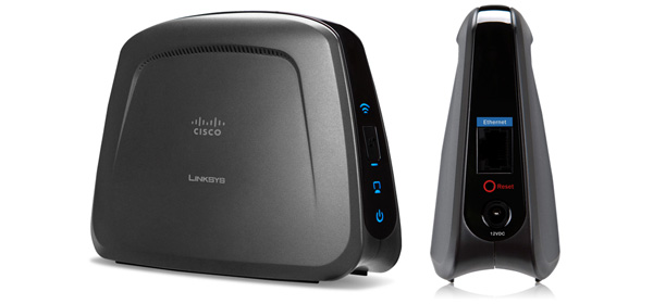 Ponts sans fil LinkSys WET610N et WES610N de Cisco
