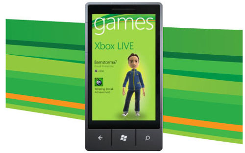 Windows, Phone, 7, xbox, 360, live, games, jeux, avatar