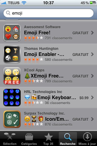 Emoji Icon Smiley Emoticon iPhone iOS4 Folders Folder Name