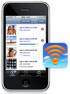 Eye-Fi Eye Fi iPhone App WiFi 3G EDGE