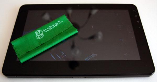 gTablet ViewSonic lingette écran réflectif