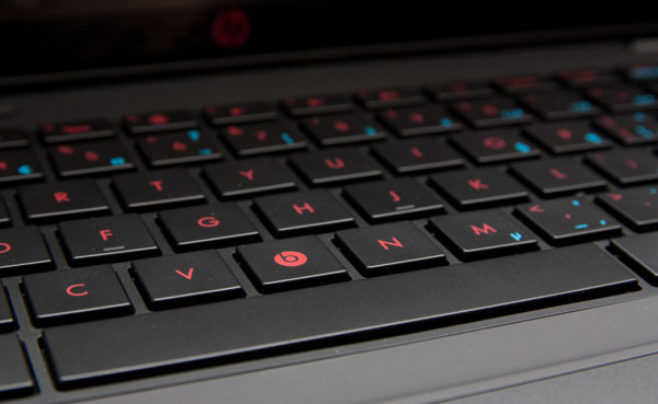HP Envy 14-1154CA édition Beats Audio touches de clavier