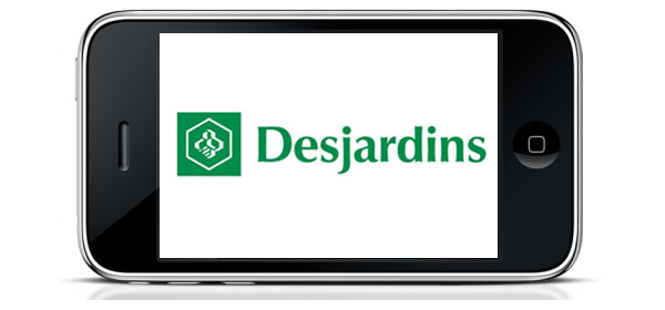 iPhone, Desjardins, iOS, application, mobile