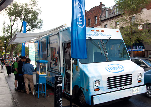 Intel Visibly Smart Tour Van