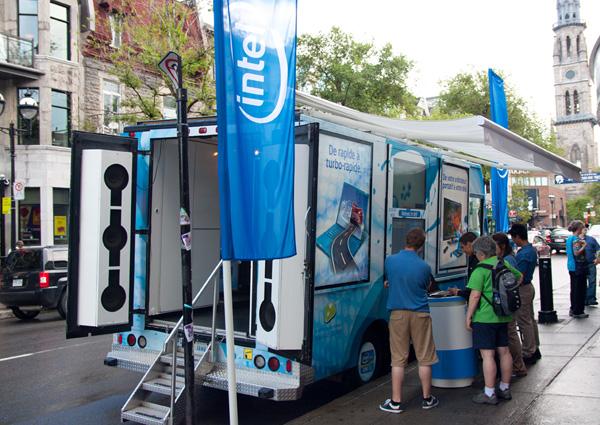 Intel Visibly Smart Tour Van #2