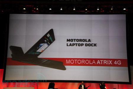 Téléphone intelligent Motorola Atrix 4G Socle Portable