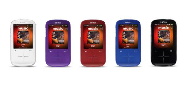 SanDisk, sansa, Fuze+, Fuze, Plus, lecteur, multimédia, radio, fm