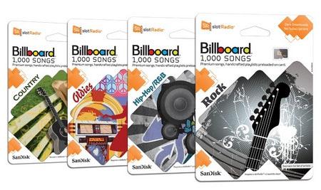 SanDisk, sansa, fuze, plus, slot, Radio, fm, carte, microSD, billboard