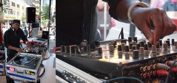 Virgin Mobile ouverture DJ