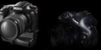 [Photo] Les deux monstres de Canon et Sony