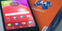 Mon test du très abordable Moto E4 de Motorola